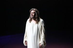 Валерий Анохин в роли Иисуса из Назарета